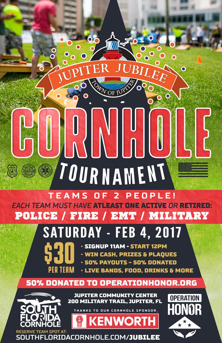 jupiter jubilee cornhole tournament